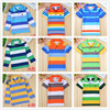 2014 new fashion children T shirts unisex baby boys clothes cotton girl t -shirts striped kid minions clothing for autumn-summer