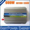 600W Grid Tie Micro Solar Inverter,10.5V~28V DC to AC 180V~260V On Grid Pure Sine Wave Inverter used for 600~720W 18V PV Module