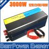 HOT SALE!! 3000W Pure Sine Wave Power Inverter, DC12V/24V/48V Off Grid Tie Inverter, Solar Power Inverter