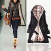 2014 Women Autumn Winter Fashion Faux Fur Lining Hoody Coat Plus Size Goose Down Parka Jacket FWO10063