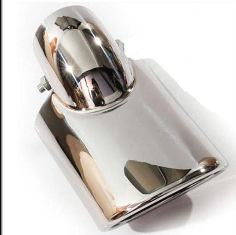 Chrome Tip Pot Angled Exhaust Alfa Romeo 145 146 147 156