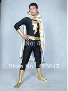DC Comics Marvel Family Black Adam Superhero Costu...
