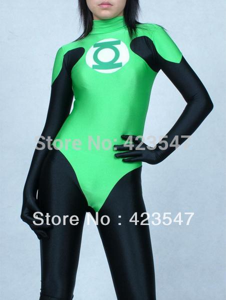 DC Comics Green Lantern Spandex High Thong Superhe...