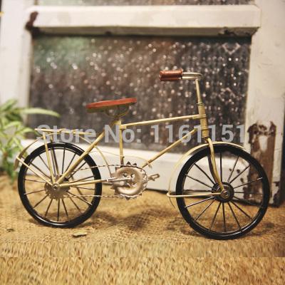 vintage bicycle old fashion metal car models home ...
