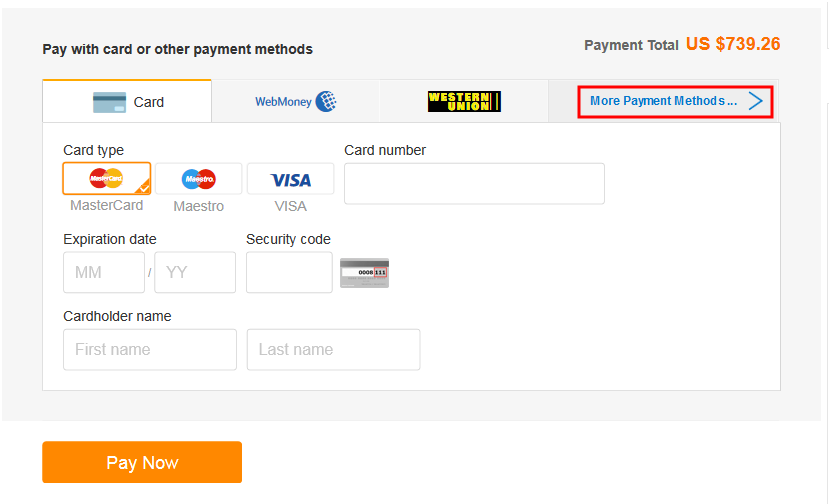 Payment Alibaba What Available - com Center Are Methods Help