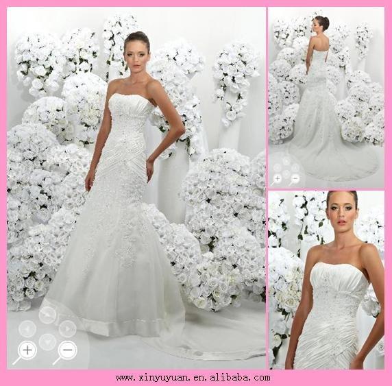 الحلوه والتقييم رد: فساتين زفاف 2010