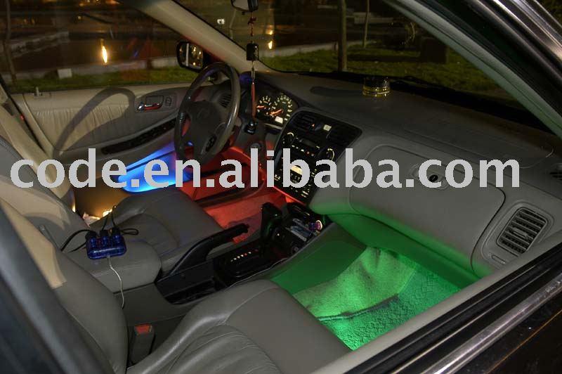 eclairage interieur led pour voiture. Black Bedroom Furniture Sets. Home Design Ideas