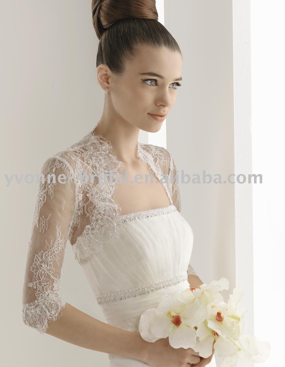 En Güzel Gelinlik Üzeri Bolero Modelleri
